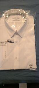 Calvin Klein Slim White Dress Shirt