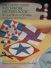 "The United States Patchwork Pattern Book: 50 Quilt Blocks for 50 States from ""He"