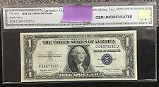 1935-G $1 Silver Certificate FR-1616 (DJ Block) GEM UNC. BLUE SEAL .99c START