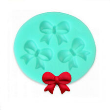 Silicone Bow Fondant Sugarcraft Mould Cake Chocolate Decorating Mold Baking Tool