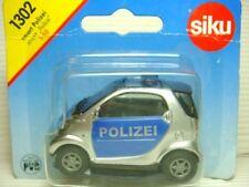 SIKU 1302 MERCEDES SMART POLIZEI POLICE PATROL CAR 1:50