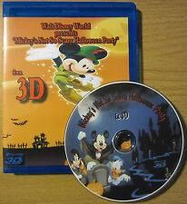 3D~Mickey's Not So Scary Halloween Party~3D Blu-Ray~Walt Disney World 2012