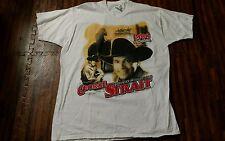 Vintage George Strait Concert T-shirt 1999 Tim McGraw Dixie Chicks Kenny Chesney