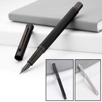 HongDian Fountain Pen With 0.4mm-0.5mm EF/F Nib Converter Pen Black White
