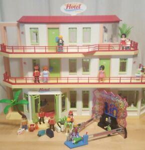 Playmobil Hotel 5265 + 5269 + also mit drei Etagen !!!