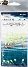 Fladen Heringssystem Makrelenvorfach Hering Makrele Paternoster Rig 1/0 -5 Haken
