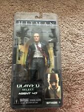 NEW/SEALED NECA Player Select Agent 47 Blood Money 2006 Video Game Action Figure