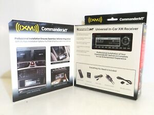 Audiovox CommanderMT Universal In-Car XM Receiver XMRVRFM002