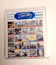 Teacher's Discovery World War II Bingo Cards for Classroom Up To 36 players
