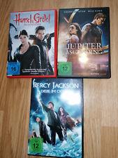 DVD Set Fantasy Hexenjäger, Percy Jackson, Jupiter Ascending