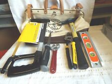 Lot of Klein Tools including Klein Tool Bag 5102-16LC
