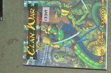 25mm japanese clan wars RPG book (as photo) (13309)