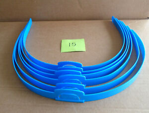 Hedbanz Board Game Blue Replacement Head Bands Lot of 6 G15 sa