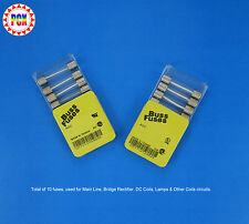 1976 Williams Blue Chip Pinball Machine Fuse Kit