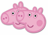 6 Peppa Pig Masks - Official Branded - Party Toy Loot Cardboard Gift Kids
