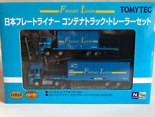 Faller/Tomytec 971219 Truck-Collection, Container-Lkw's, N Gauge, 1:160