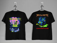 MEGADETH TShirt Tour 1989 Contaminated Thrash gildan shirt top
