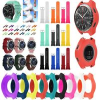 Protector Case Cover Smart Watch Slim Silicone For Samsung Gear S3 Frontier