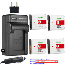 Kastar Battery AC Rapid Charger for Sony NP-BG1 NP-FG1 Sony Cyber-shot DSC-W220