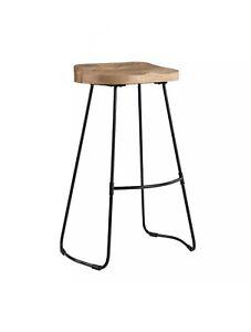 Lot Of 2 Madeleine Home Romboss Saddle Seat Bar Stool - New free shipping