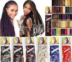 XPRESSION (X-pression) Premium Ultra Braid Hair Extension Various Colours