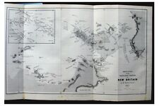 1881 Powell - NEW BRITAIN - Papua New Guinea - CANNIBALISM - MAP - Wrappers 2