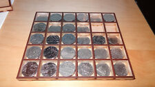 DISPLAY TRAY 50p commemorative coins laser cut MDF organiser sterling mint UK