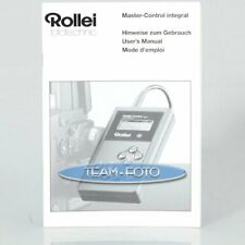 Rollei Anleitung - Master-Control Integral