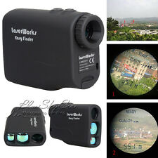 Portable Laser Range Finder 600M For Hunting Shooting Golf Carp Fishing Outdoor