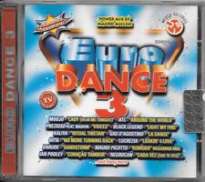 "VARI COMPILATION CD ""EURO DANCE 3"" (GIGI D'AGOSTINO) 2000 TIME 215 CD RARO"