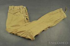 POLO RALPH LAUREN Green COTTON Military Fatigue Khaki CARGO Pants Trousers - 30