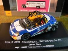 1/43 Onyx XCL99004 Renault Spider Swan National British Spider Cup '97 J. Plato