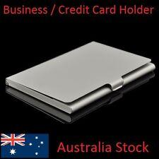 Business Card, ID, Drivers Licence, Credit Card Pocket Holder Alloy Hard Case