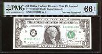 1969-A $1 FRN Courtesy Autograph David M Kennedy E50801113C PMG 66EPQ