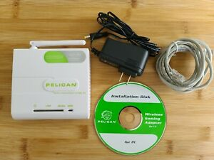 Pelican PL-3669 Wireless Gaming Adapter for Xbox 360 Access Point 802.11g 54MB/s