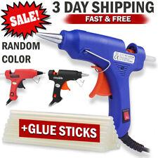 Hot Melt Glue Gun & Sticks Electric Heating DIY Applicator Mini Kit Arts Crafts