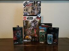 "Star Wars Cara Dune 5 figure lot Black Series 6"" Lego Vintage 3.75 Credit Fleet"