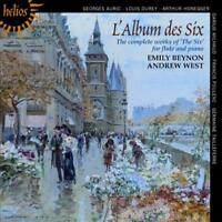 L'ALBUM DES SIX: THE COMPLETE WORKS FOR FLUTE AND PIANO USED - VERY GOOD CD
