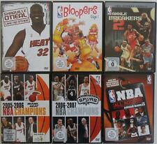 6x NBA Basketball DVD Sammlung (Shaquille O'Neal, Bloopers 1, All Access, ...)