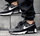 New NIKE Air Max 90 Essential Athletic Sneakers Mens gray black size 12