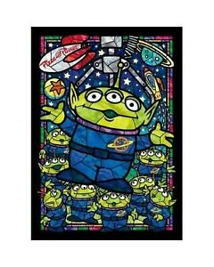 Tenyo Puzzle 266pc - Disney Toy Story Alien Stained Glass