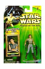 Star Wars Power of the Jedi General Leia Organa Action Figure Free Shipping