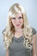 Perruque, Perruque, Blond, RAIE, bouclée 9319-611 env. 60cm