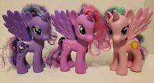 My Little Pony Princess Luna Pink Celestia  Twilight Sparkle 7in Figures
