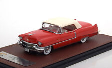 CADILLAC SERIES 62 CONVERTIBLE CLOSED 1956 RED 120402 1/43 RESINE ROSSO ROT ROUG