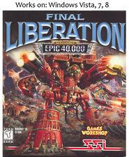 Final Liberation: Warhammer Epic 40,000 PC Game 40k