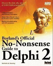 Borland's Official No-Nonsense Guide to Delphi 2-ExLibrary