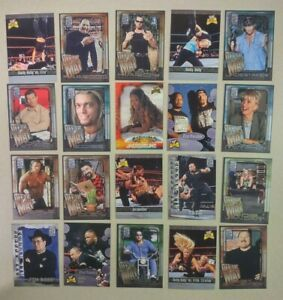 20 Different Awesome Wrestling Cards 2002 Fleer WWF All Access Fan Must FREE S&H