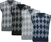 Mens Henley Jumper Top Soft Wash Thermal Grandad Neck Waffle Knit T-shirt M-2XL