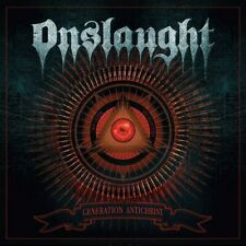 ONSLAUGHT - GENERATION ANTICHRIST CD ALBUM NEW PHD (7TH AUG)